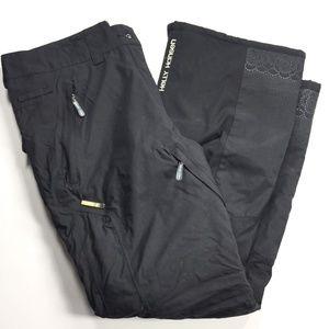 Helly Hansen Black Ski Snowpants Women's Large